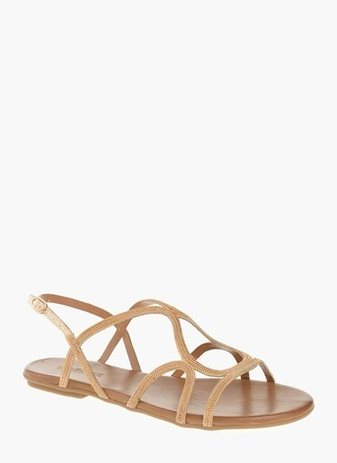Divarese Sandalet Altın
